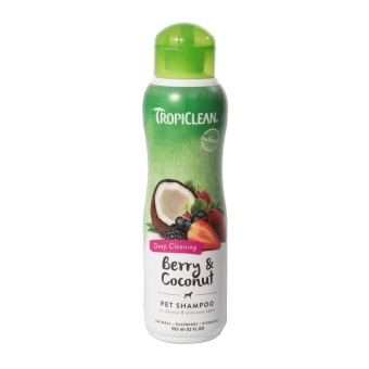 Tropiclean Berry & Coconut schampo