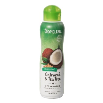 Tropiclean Oatmeal & Tea Tree schampo