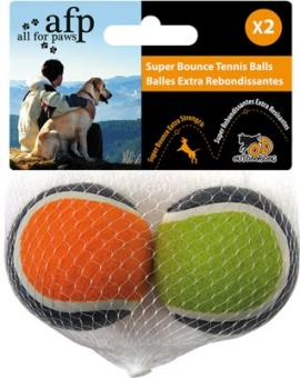 AFP Tennisbollar med studs 2-p