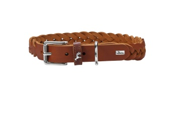 Hunter Solid Education Special Halsband cognac