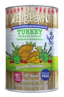Little Big Paw Naturally Delicious Turkey