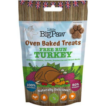 Little Big Paw Oven Baked Treats Turkey
