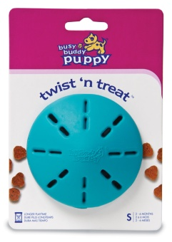 Busy buddy puppy twist n treat