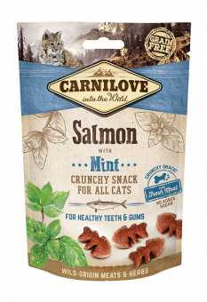 Carnilove Cat Crunchy Snack Salmon with Mint