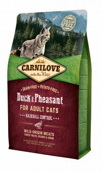 Carnilove CAT Duck & Pheasant - Hairball Controll