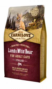 Carnilove CAT Lamb & Wild Boar - for Sterilised