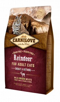 Carnilove CAT Reindeer - Energy & Outdoor