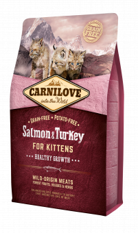 Carnilove CAT Salmon & Turkey - for Kittens