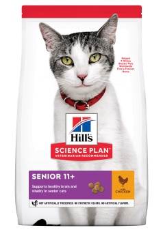 Hills SP Feline Senior Chicken +11