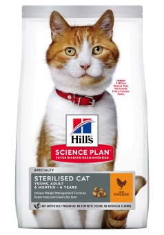 Hills SP Feline Young Adult Sterilised Chicken