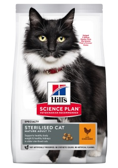 Hills SP Feline Mature Sterilised Chicken