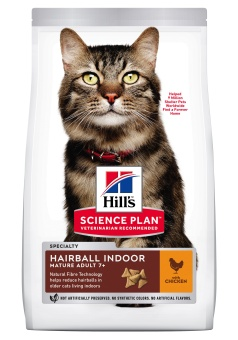 Hills SP Feline Mature Hairball Indoor Chicken