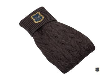 G&E Stickad tröja brun