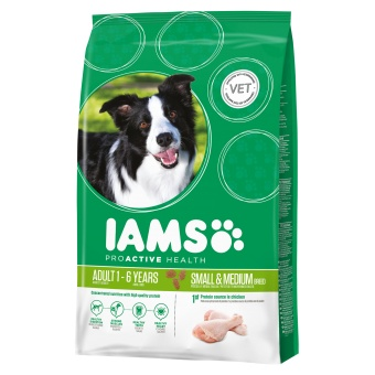 Iams dog Adult small / medium