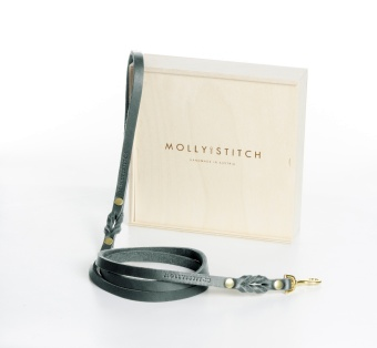 M&S Butter City Leash Timeless grey