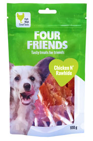 FourFriends Godis FFD Chicken N' Rawhide