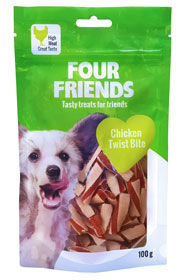 FourFriends Godis FFD Chicken Twist Bite