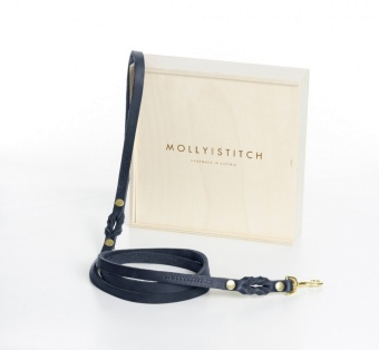 M&S Butter City Leash Navy