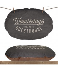 M&P Woodsdogs coussin ovale