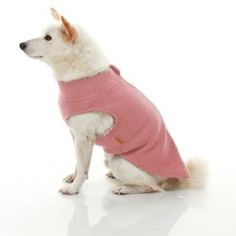 Gooby Zip Up Microfiber fleece Rosa