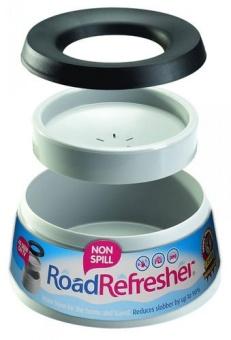 Skål non-spill road refresher 1,4l grå
