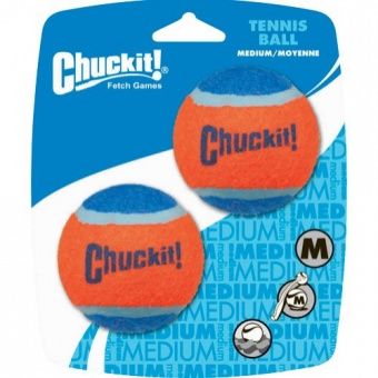CHUCKIT Tennisbollar 2-p