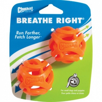 CHUCKIT  Breathe right ball, S, 2 st.