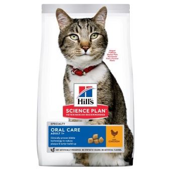 Hills SP Feline Adult Oral Care Chicken