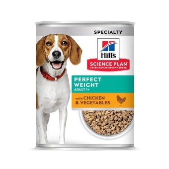 Hills SP Canine Perfect Weight Chicken&Vegetables våtfoder