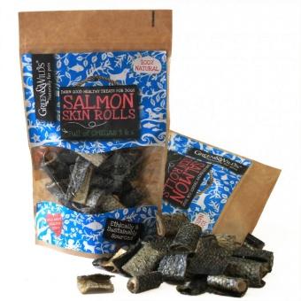 G&W Salmon Skin Rolls