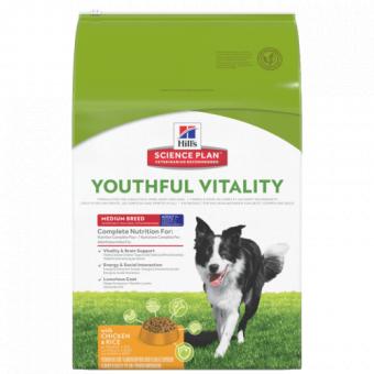 Hills SP Canine Youthful Vitality Medium Chicken