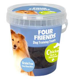 FourFriends Naturgodis FFD TrainingTreats Chicken
