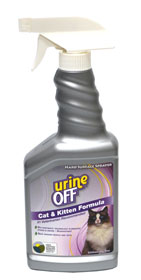 Urine Off Cat spray