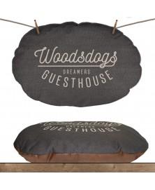 M&P Woodsdogs coussin ovale