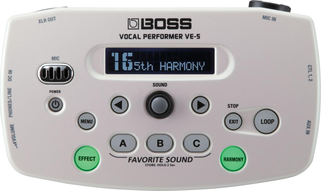 BOSS vocal performer VE-5