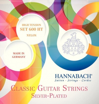 Hannabach 600 Silver Plated High