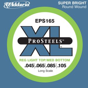 D'addario XL ProSteels Bas EPS165