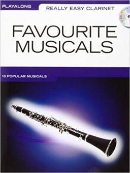 Favorite Musicals Clarinet