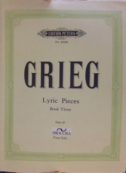 Grieg Lyric Pieces Book Three