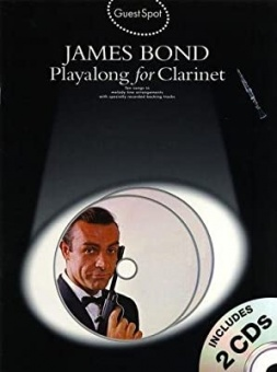 James Bond Playalong for Clarinetx