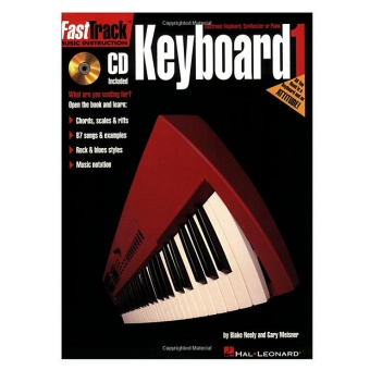 Fast track music instruction Keyboard 1