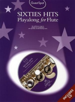Sixties Hits Playalong for Flute