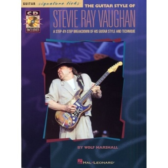 The guitar style of Stevie Ray Vaugh