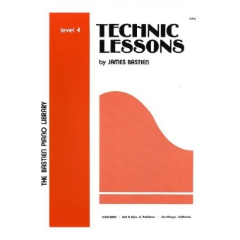 Bastien Technic Lessons Level 4