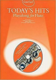 Todays Hits Playalong for Flute