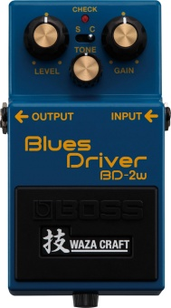 Effektpedal BOSS Blues Driver Waza Craft BD-2W