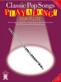 Classic Pop Song Playalong for Flute