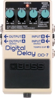 Effektpedal Boss DD-7 digital Delay