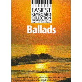 Easiest keyboard collection ballads