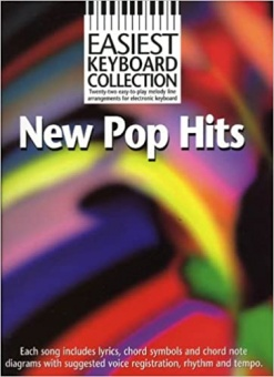 Easiest keyboard collection pop hits